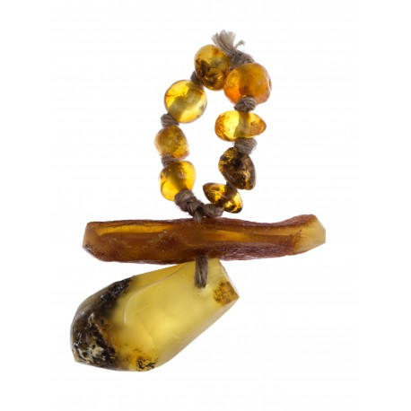 Natural Baltic amber dummy