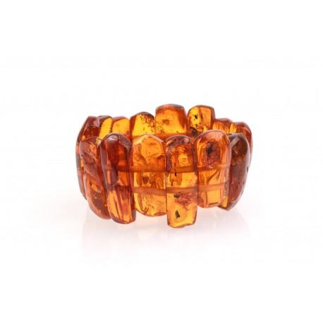 Antiquarian amber bracelet