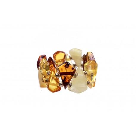 """Amber ring """"Seasons"""""""