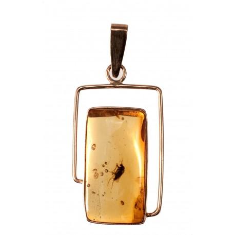 Golden-amber pendant