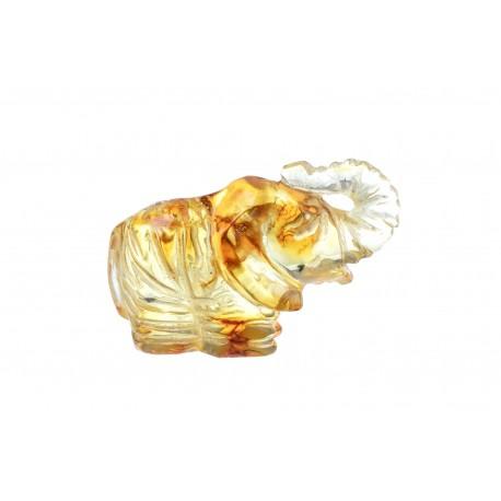 Geltono gintaro drambliukas
