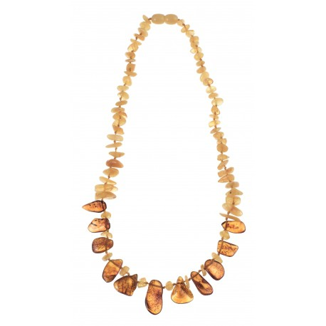 "Amber necklace ""Jurate"""