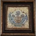 """Ceramic - graphic painting """"Concord"""""""