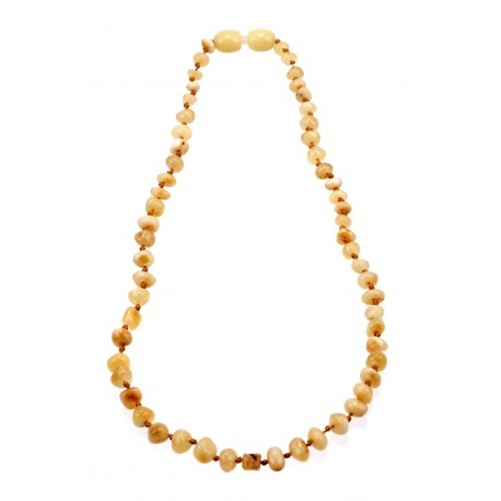 Children honey-colored amber beads