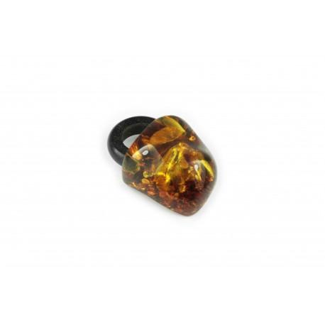 Amber-wood pendant