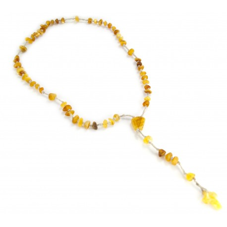 Christian amber rosary