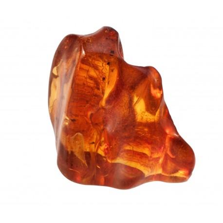 Transparent amber