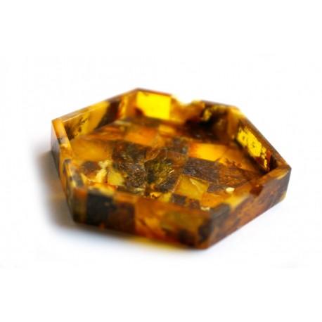 Amber ashtray
