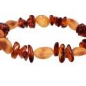 Baltic amber bracelet