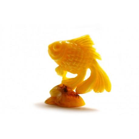 "Amber figurine ""Fish"""