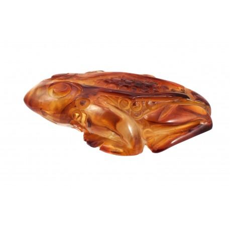 "Amber figurine ""Frog"""
