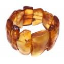 Cognac amber bracelet