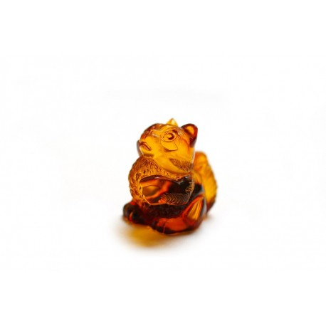 "Amber figurine ""Cat"""