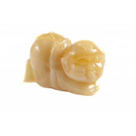 "Yellow amber figurine ""Baby"""