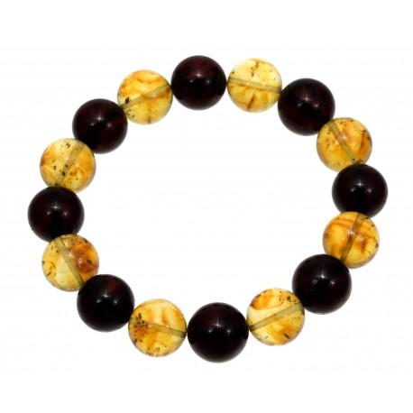 """Amber bracelet """"Contrast"""""""