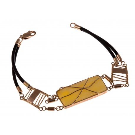 "Gold bracelet "" Illusion"""