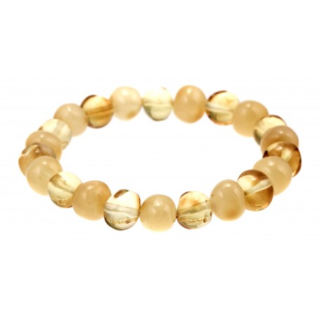 """Amber bracelet """"Lemon"""""""