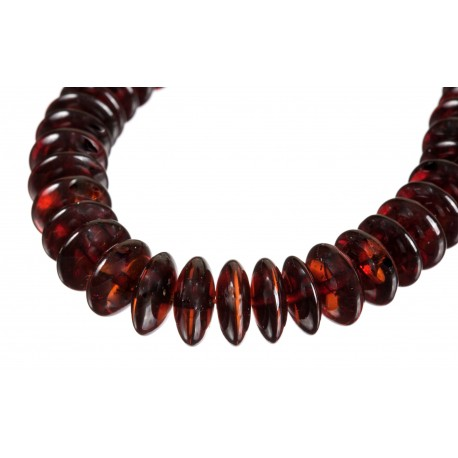 Cherry-amber necklace