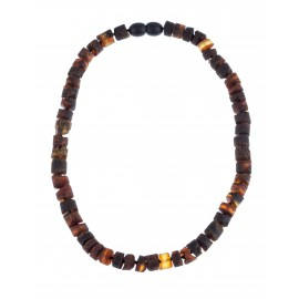 Beads of natural amber for children