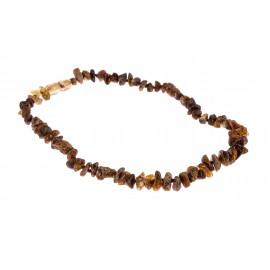 Children variegated amber beads