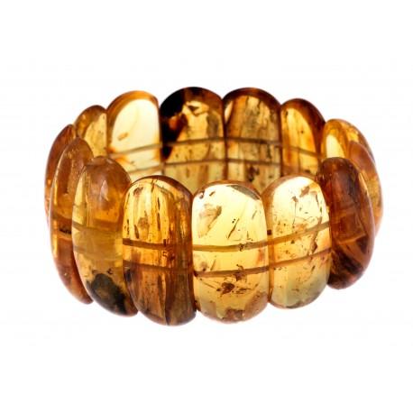 """Natural amber bracelet """"Sandstorm"""""""