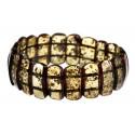 "Natural amber bracelet ""Green Valley"""