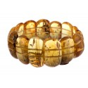 "Natural amber bracelet ""The Summer Passion"""