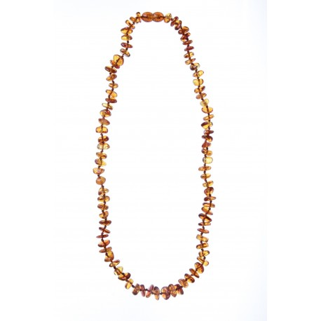 "Children amber beads ""Honey"" 32cm"