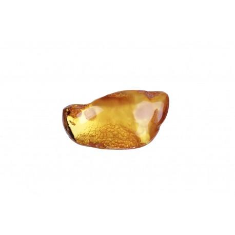 Cognac-colour, amber nugget