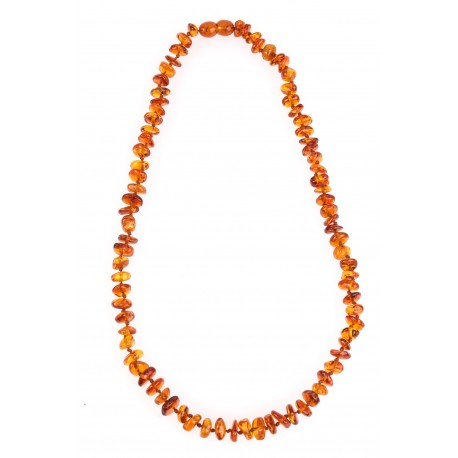 "Children amber beads ""Honey"" 34cm"