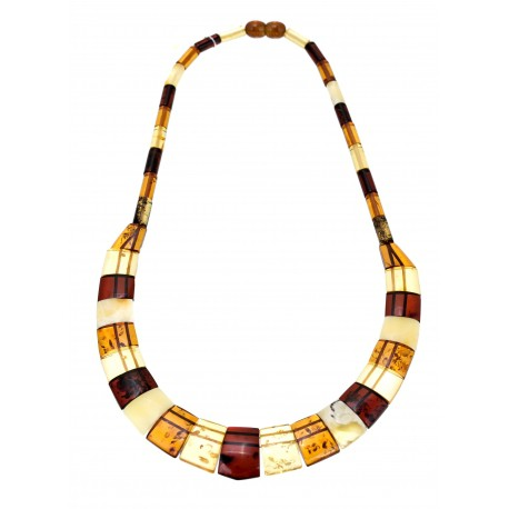 "Amber necklace ""Cleopatra"""