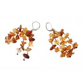 Hand-braided earrings