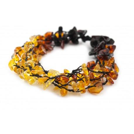 Hand-twined bracelet
