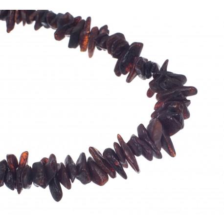 Cherry amber beads