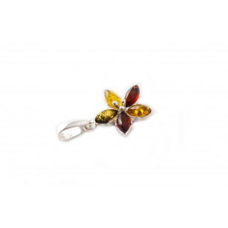 """Silver pendant """"Nostalgic Spring"""""""