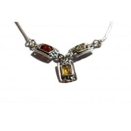 """Silver necklace """"Sea Stones"""""""