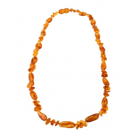 Natural amber necklace