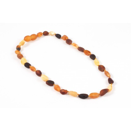 Children variegated amber beads