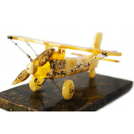 "Amber figure ""Airplane"""