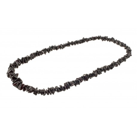 Dark cherry amber necklace