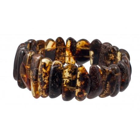 Green amber bracelet