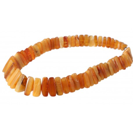 Antique yellow amber necklace