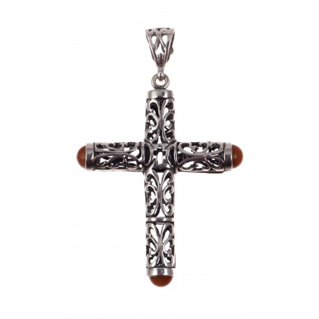 Silver pendant - Cross