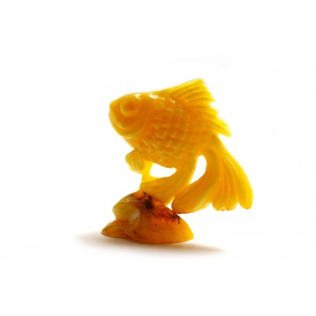 "Amber figurine ""Fish"""