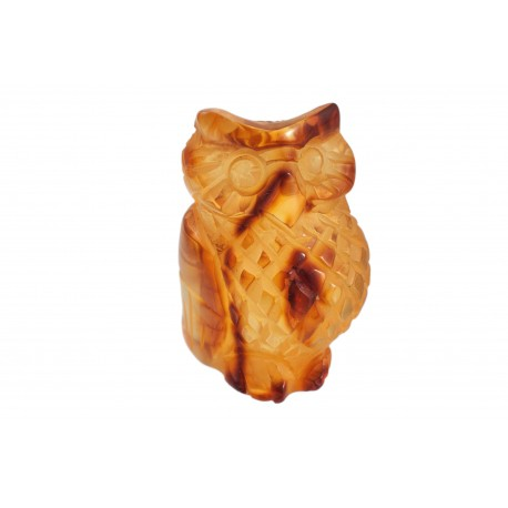 "Amber figurine ""Owl"""