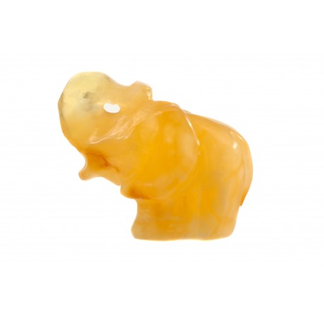 "Amber figurine ""Little elephant"""