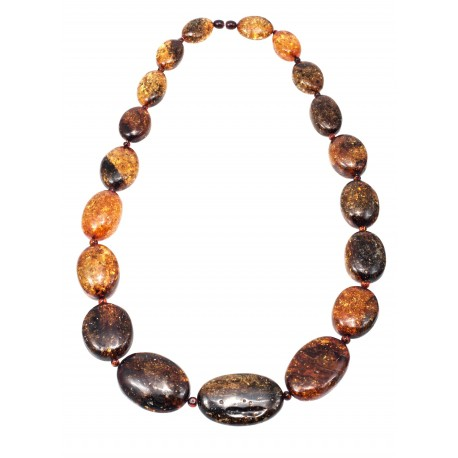 Massive amber necklace
