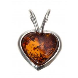 "Silver pendant ""Heart"""