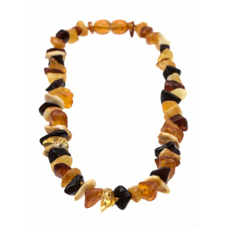 Colourful children amber bead
