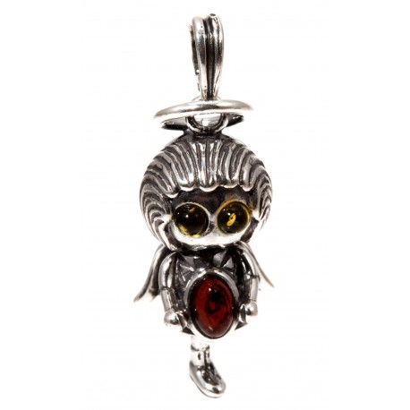 "Silver pendant ""Angel"""